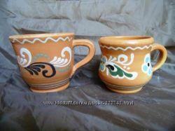 Чашки керамические. Опошня