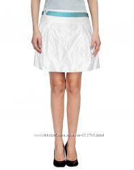 Белая юбка-колокол Versace Sport Оригинал Сделано в Италии в складку спорт