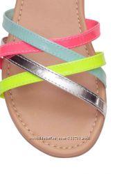 Яркие босоножки H&M новые 37