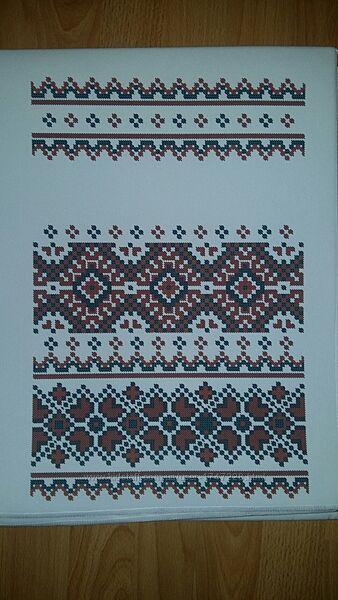 Продам заготовки рушника свадебного для вышивки