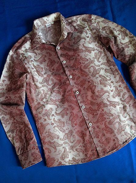 Рубашка омбре Zoor р. 48-50