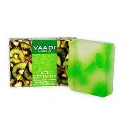 Мыло для лица и тела Киви.  Vaadi Exotic Kiwi Soap