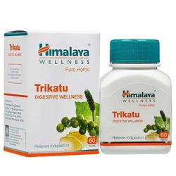 Трикату Trikatu Хималая Himalaya, 60 т. Лишний вес, ЖКТ, токсины, паразиты