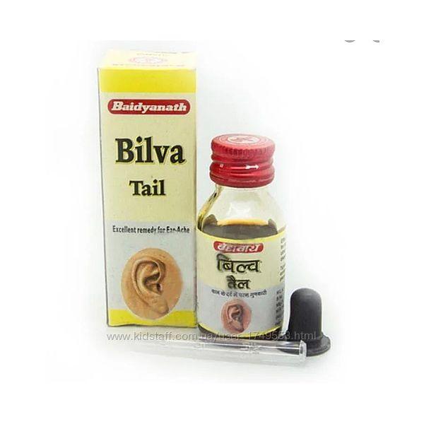 Билва таил, Bilva Tail капли для ушей, Баидьянатх  Baidyanath  25мл.