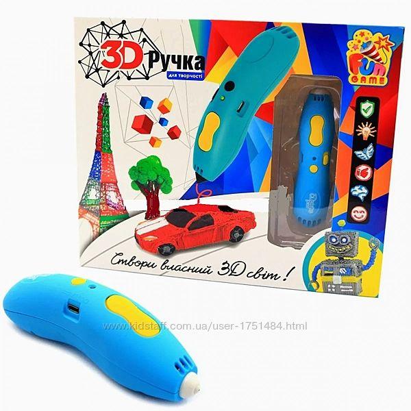3d ручка Детская на аккумуляторе зарядка от USB керамический наконечник