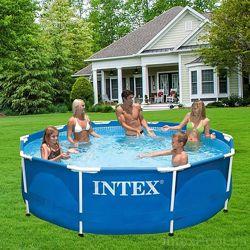 Каркасный бассейн Intex Интекс детский семейный 28200 и 26700 305х76