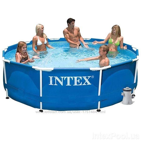 Каркасный бассейн Интекс круглый 28202 305х76