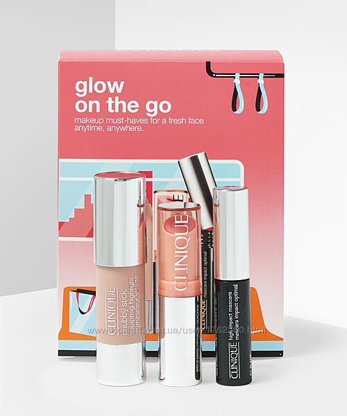 Набор Clinique - Glow On The Go