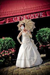 Свадебное платье брызги шампанского пошитое эксклюзивно под заказ
