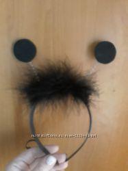 Рожки жучок черный жук