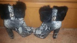 Шикарные зимние сапоги 39 размер