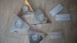 Светильники мебельные 4шт. для кухни накладные  и 2 трансформатора