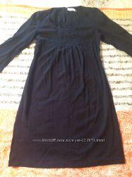 Строгое красивое черное платье Calvin Klein цену снижено