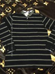 Фирменный стильный свитер в полоску