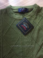 Теплый красивый нежный фирменный свитер PAUL&SHARK