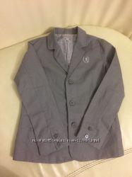 Х б пиджак на мальчика 8-10 лет, рост 138