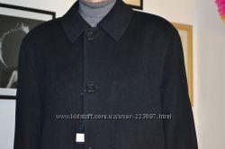 Новое шикарное кашемировое пальто с отстегивающейся меховой  подстежкой