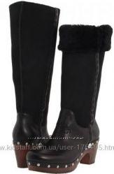 сапоги Ugg Australia women us Jemma Black Boots for winter