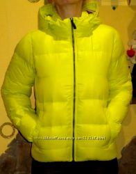 Пуховики  Benetton, Nike. Mango. GEOX