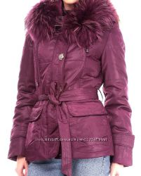 куртка wear aockniss, с большим красивым мехом енота на удо