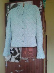 куртка голубая очень красивая