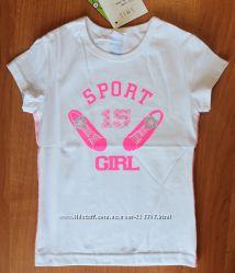 Спортивна футболка Smil з неоновим малюнком - в наявності
