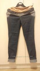 Новые джинсы для стройной беременной, бедра 85-90 см