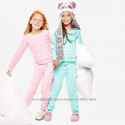 Плюшевая пижама домашний костюм Childrens place 4T