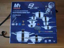 Набор посуды Millerhaus Zurich MH-9055 17 предметов, Германия.