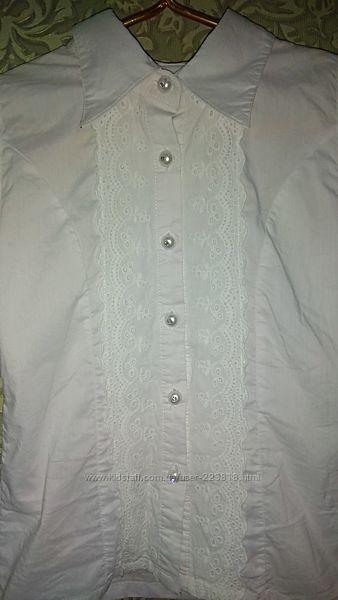Блузка для школы р. 122