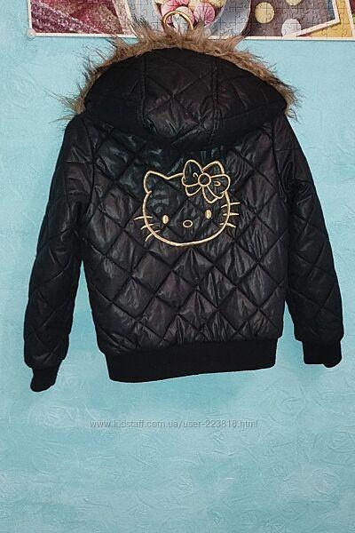 Куртка на осень для девочки р. 122 H&M