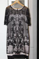 Кружевное платье 52 размера