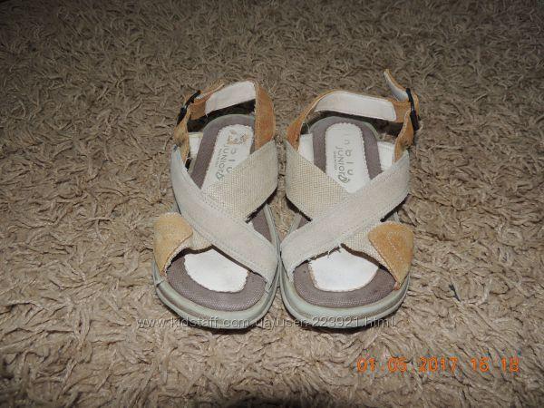 Натуральные сандалии, стелька 19см
