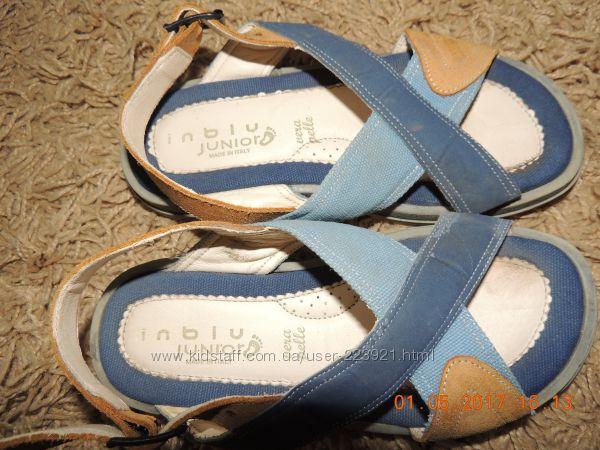Натуральные сандалии, стелька 21см, 2 пары