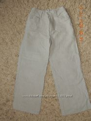 Льняные брюки Next состояние новых, р. 7 122см