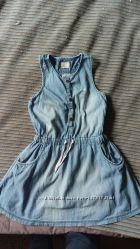 Платье - сарафан No Name из тонкого джинса