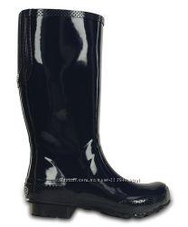 Сапоги-дождевики Crocs Tall Rain Boot W7. Оригинал, кроксы, резиновые