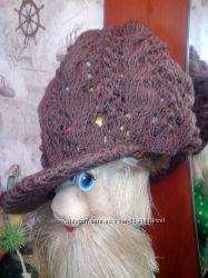 Вязанная кепочка
