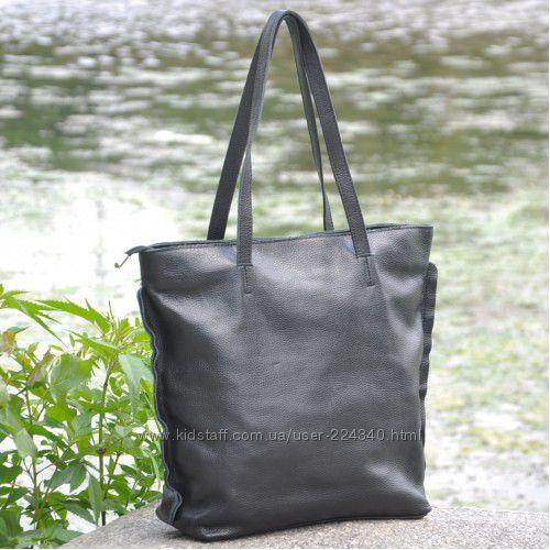 Стильная сумка тоут из натуральной кожи Версаль