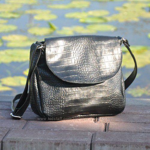 Кожаная женская сумка кроссбоди Cross Maxi