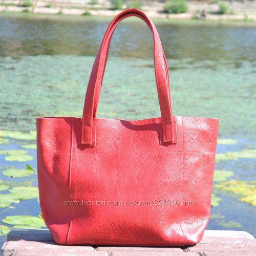 Яркие сумки из натуральной кожи