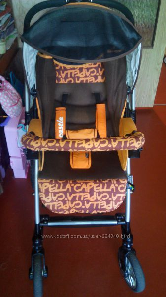 Прогулочная коляска Capella S-803 Orange