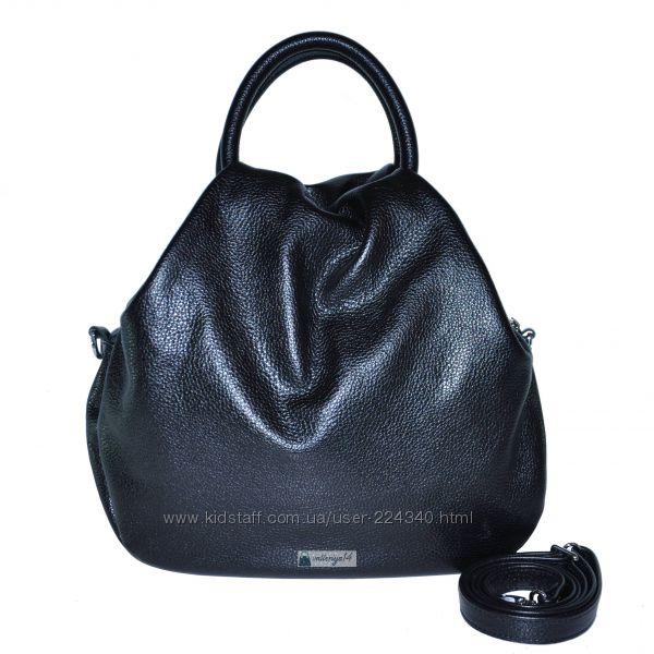 Стильная кожаная сумка Basket
