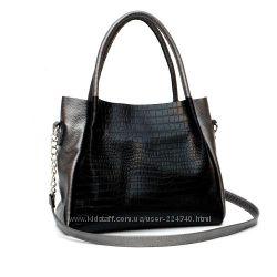 Кожаная женская сумка Верона разные цвета