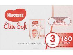 Мега-упаковки Huggies Elit Soft по супер цене