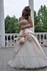 Свадебное платье дизайнера Оксаны Мухи