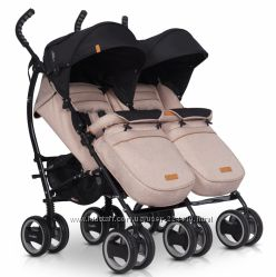 Прогулочная коляска для двойни EasyGo Comfort Duo
