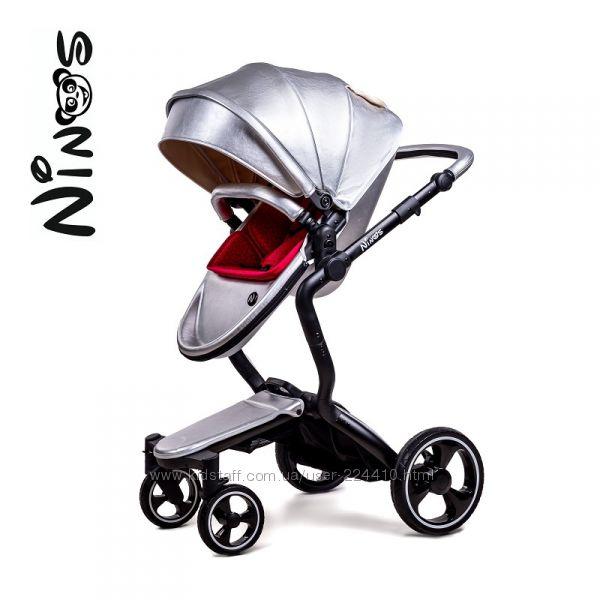 Универсальная коляска 2 в 1 NINOS A88 Silver Pearl
