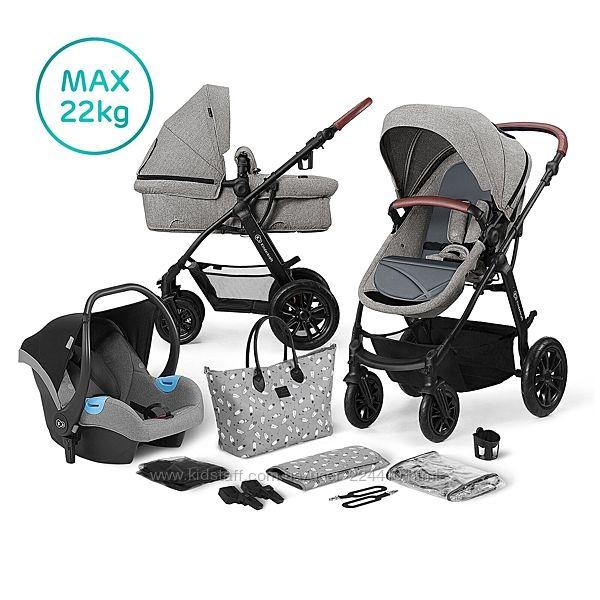 Универсальная коляска 3 в 1 Kinderkraft Xmoov