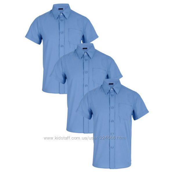 Рубашка школьная Top Class с коротким рукавом. Англия